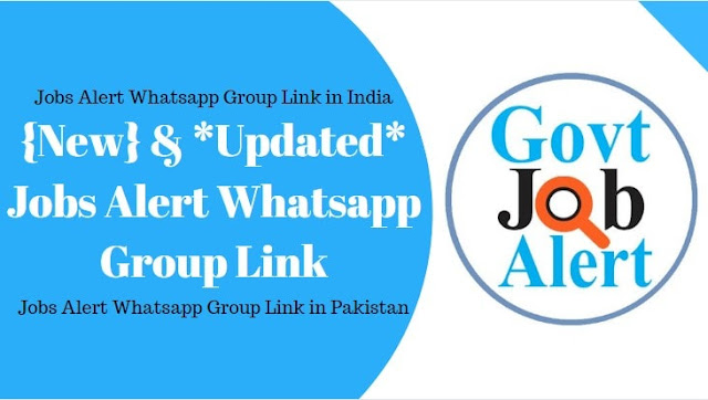 latest jobs alert whatsapp group India