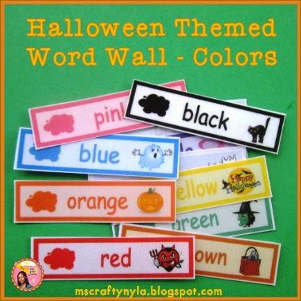 Halloween theme classroom