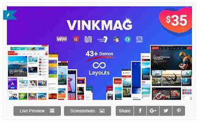 Download Vinkmag - Multi-concept News Magazine WordPress Theme