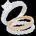 Cincin Mondial Berlian Rose Perhiasan Berlian Asli Yang Mewah