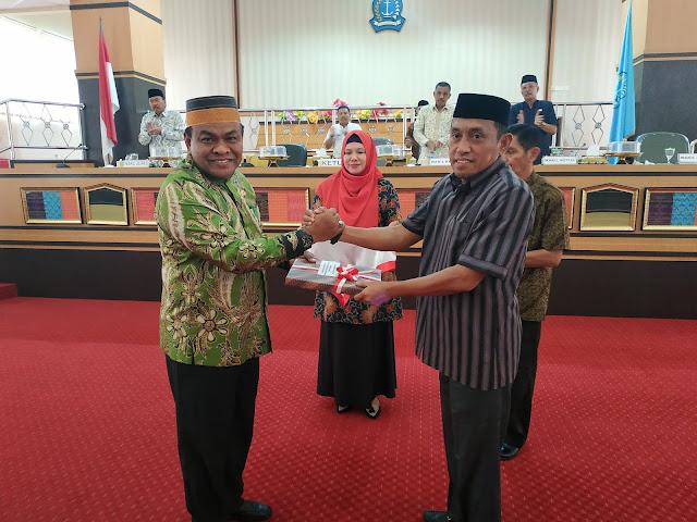 [FOTO] Pelaksanaan Rapat Paripurna DPRD Bone Membahas LKPJ Bupati Bone TA 2018