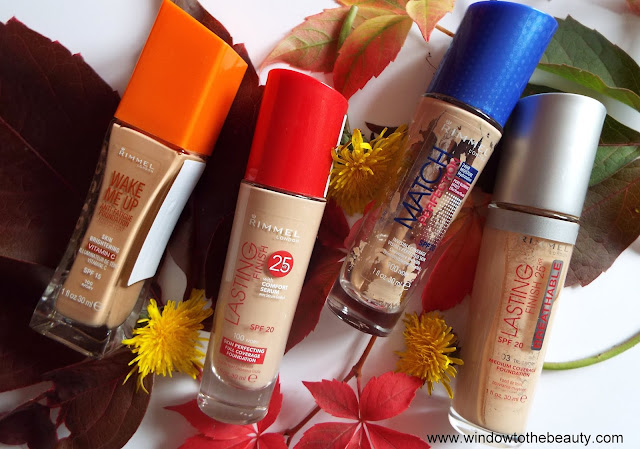 rimmel all foundations review