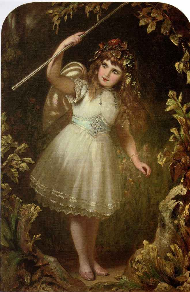 bumble button: Romantic Victorian 19th century paintings