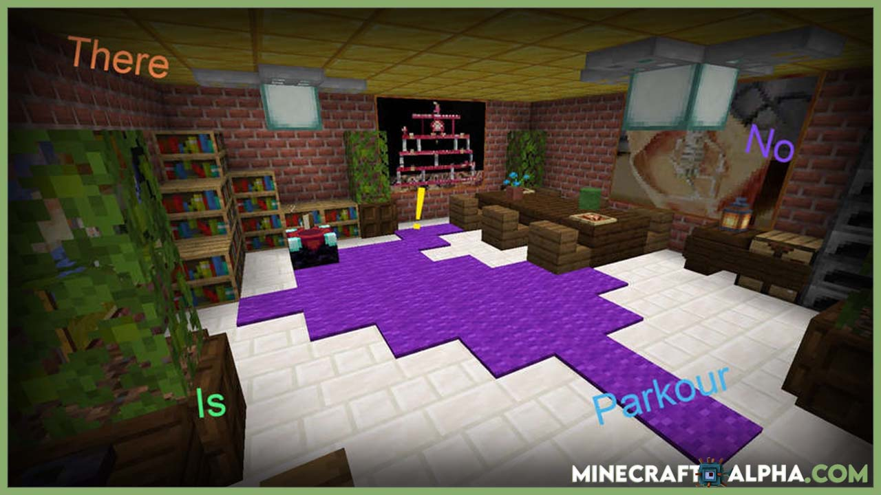 There Is No Parkour Map For 1.16.5 For Minecraft