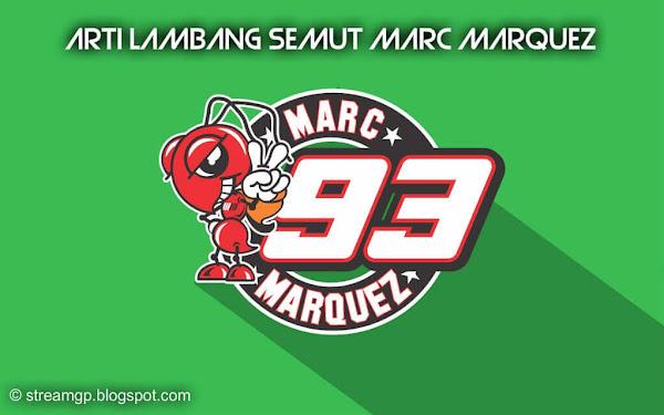 yang menyatakan suatu hal atau mengandung maksud tertentu Arti Lambang Semut Marc Marquez