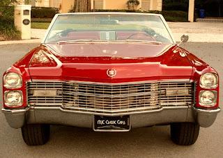 1966 Cadillac Eldorado Coupe Convertible Front