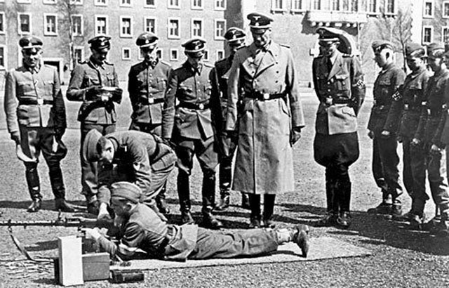Nuremberg Police Chief Martin at the SS Barracks, 11 May 1942 worldwartwo.filminspector.com