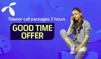 Telenor call packages 2 hours
