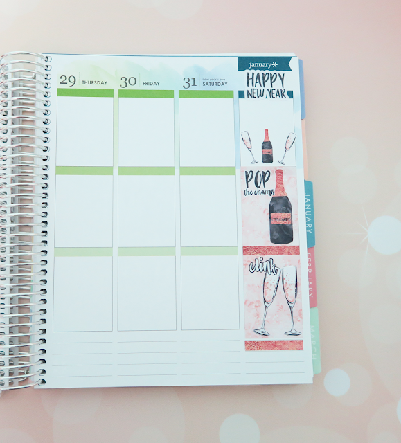 Erin Condren 2017 Life Planner - Vertical Layout | Kat Stays Polished
