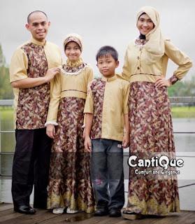 Baju batik sarimbit mewah