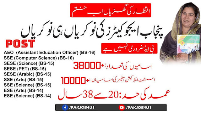 Punjab Educator Jobs 2020