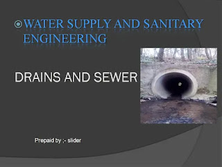 Drain sewer ppt download free