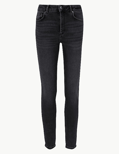 marks and Spencer authentic stretch skinny leg jeans