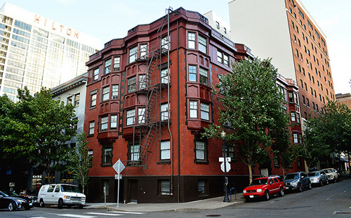 Low income housing apartment building