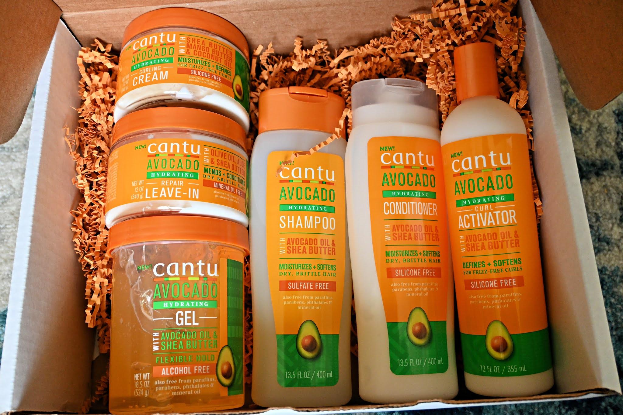 Cantu Beauty's Avocado Haircare Collection