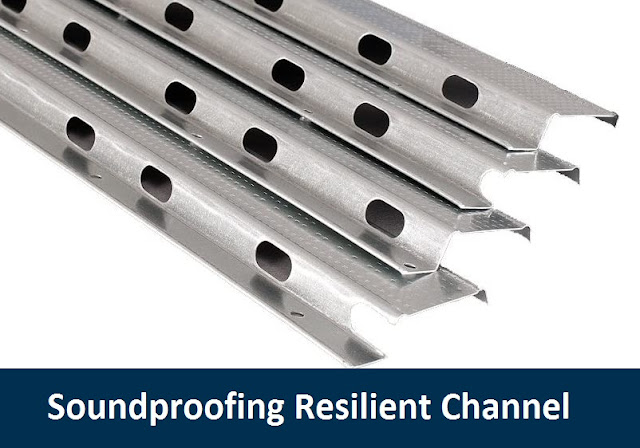 Soundproofing Resilient Channel installation