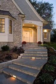 Desain Tangga Depan Rumah Batu Alam