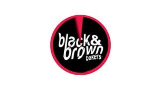 Black & Brown Bakers logo