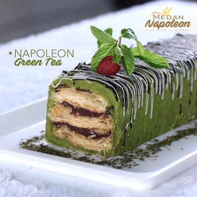 Medan Napoleon Green Tea