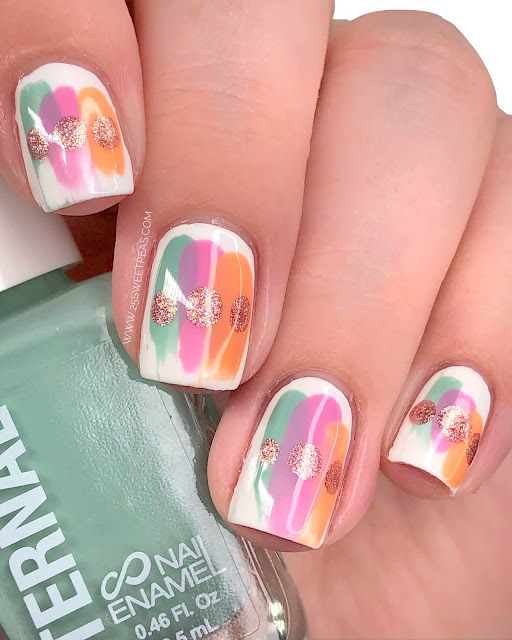 Easy Abstract Nail Art
