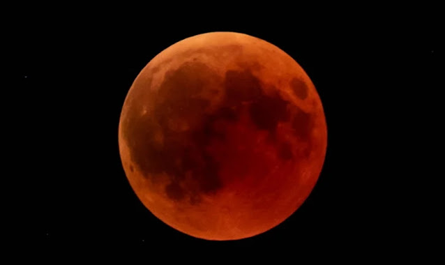 """Eclipse total da """"Lua de Sangue"""" acontecerá nos próximos dias"""
