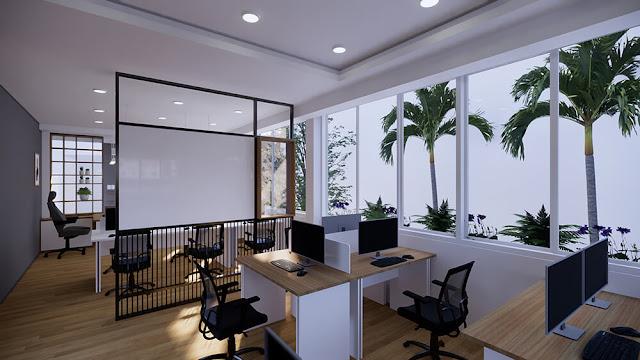 Ghế lưới văn phòng làm tăng giá trị thẩm mĩ cho văn phòng làm việc