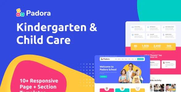 Best Kindergarten and Child Care Elementor Template Kit