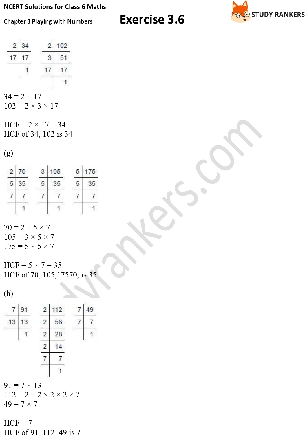 NCERT Solutions for Class 6 Maths Chapter 3 Playing with Numbers Exercise 3.6 Part 3