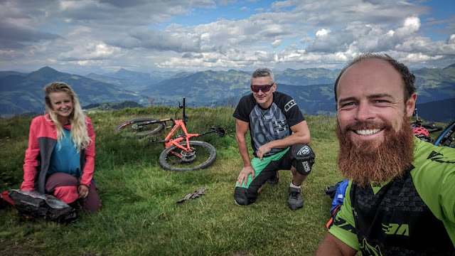 Single Trail Mountainbike MTB Wildschönau Enduro One 2018