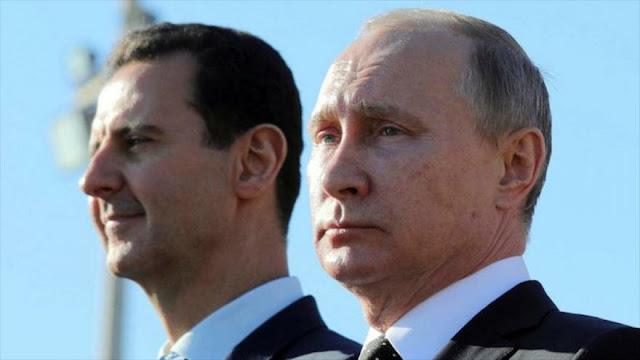 Al-Asad habla con Putin sobre el acuerdo entre Rusia y Turquía
