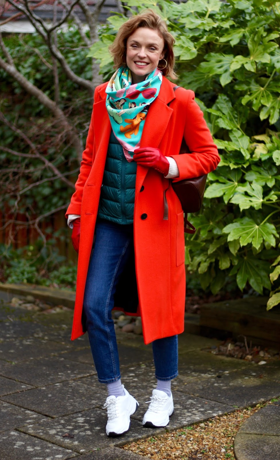 Bold and Casual Winter Outfit | Fake Fabulous