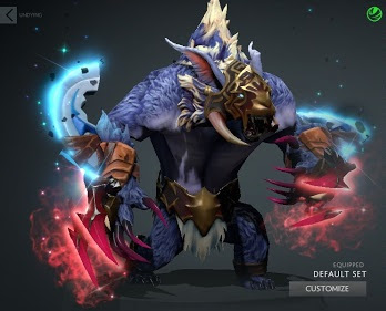 ursa swift claw and ferocious heart dota 2 mods