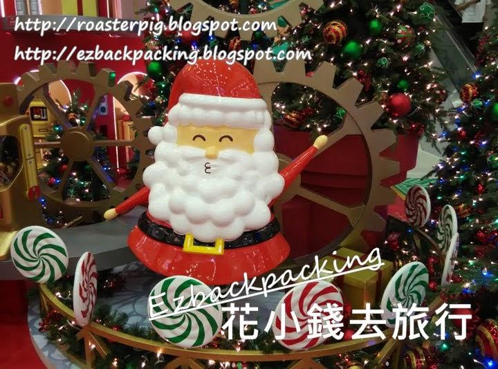 大埔超級城聖誕燈飾2020
