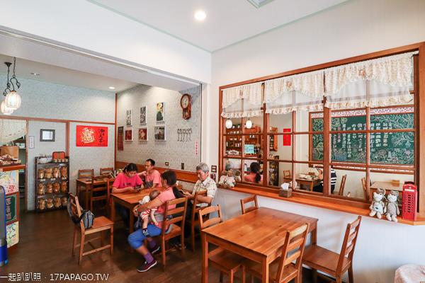 台中大里|原素齋大里店|巷弄裡的素食美食|天然食材|炒飯義大利麵焗烤