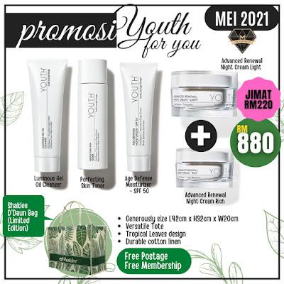 Youth Starter Set + Youth Night Cream