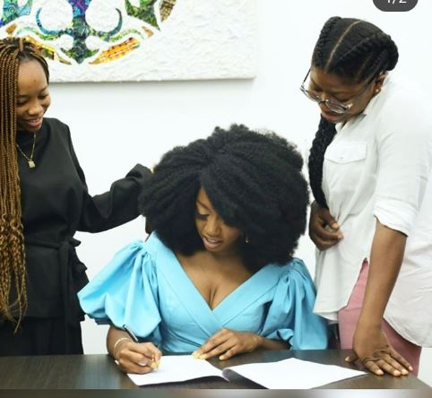 Reality star Khafi announces new endorsement deal with Natural Girl Wigs