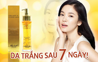 3w Clinic Collagen Luxury Gold giá bao nhiêu