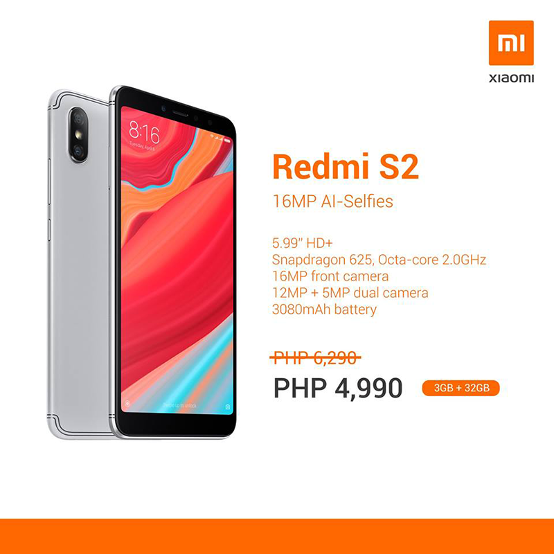Redmi S2 sale