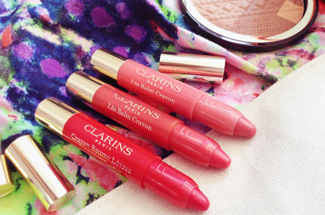 Clarins Colours of Brazil lip balm  crayon blog review