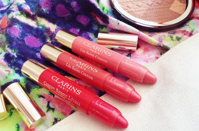 Clarins Colours of Brazil lip balm  crayon blog review