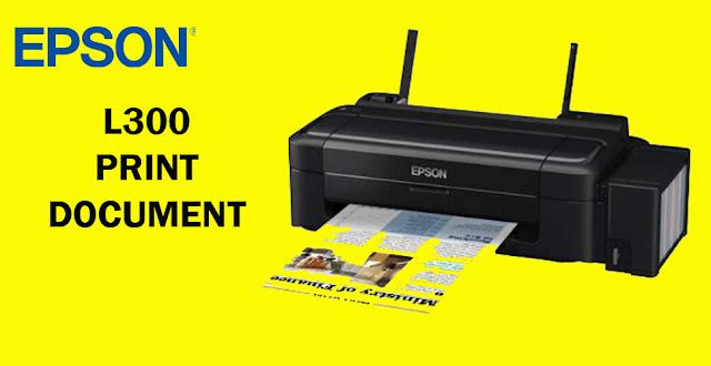 ePSON L300 dan Driver EPson l300
