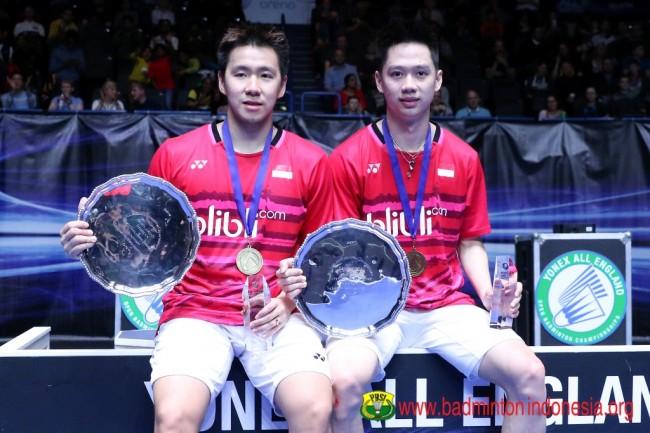 Hasil Indonesia Open 2018, Indonesia Raih Dua Gelar
