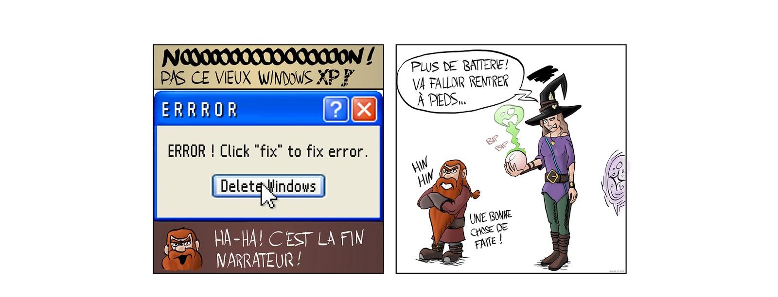 Nain Broglio page 6 bug windows