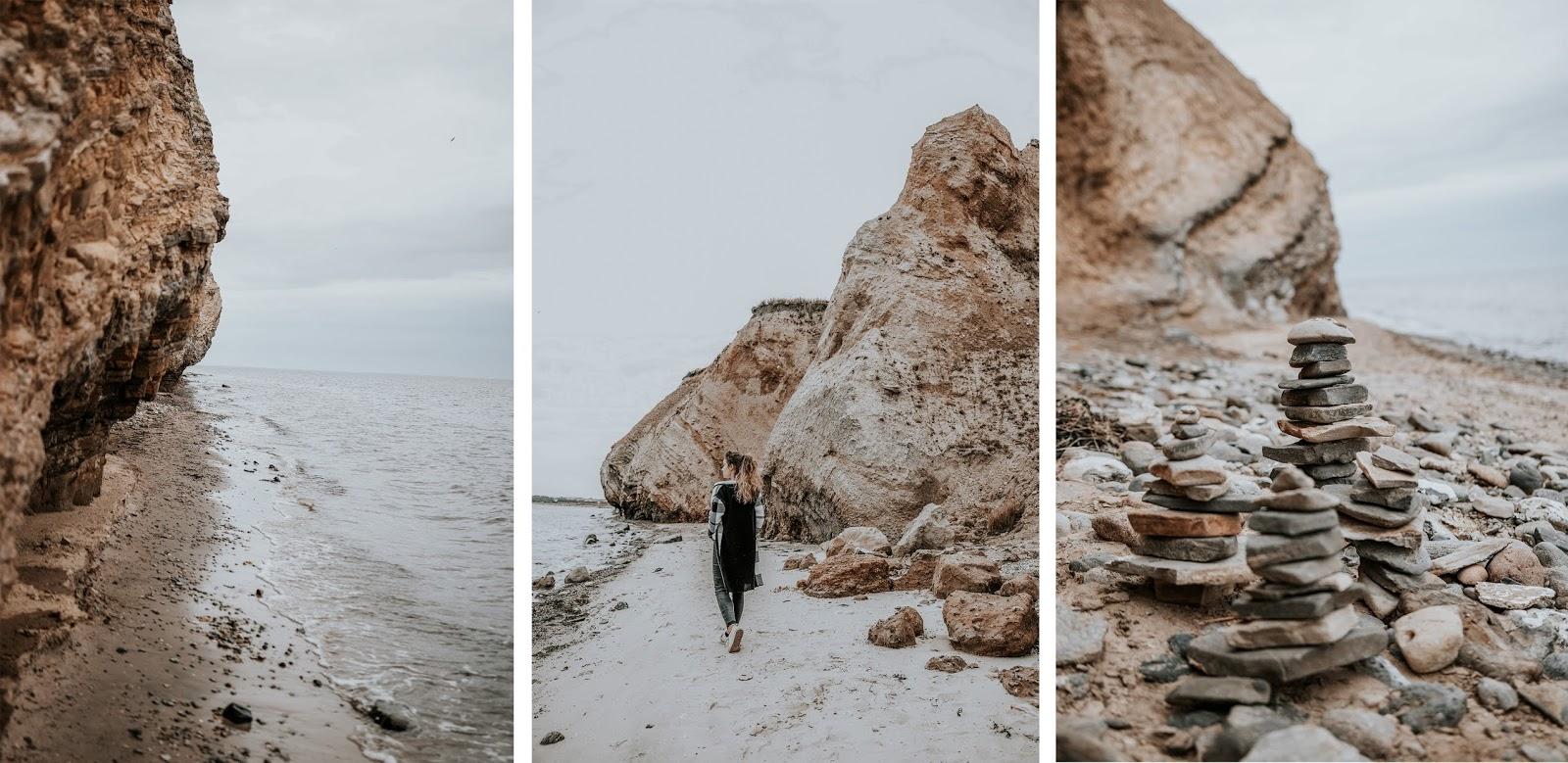 Atrakcje w Danii, klify w Danii, nabrzeże duńskie