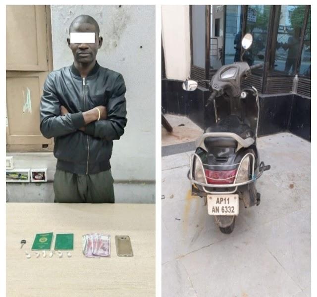 Nigeria drug dealer arrested in India