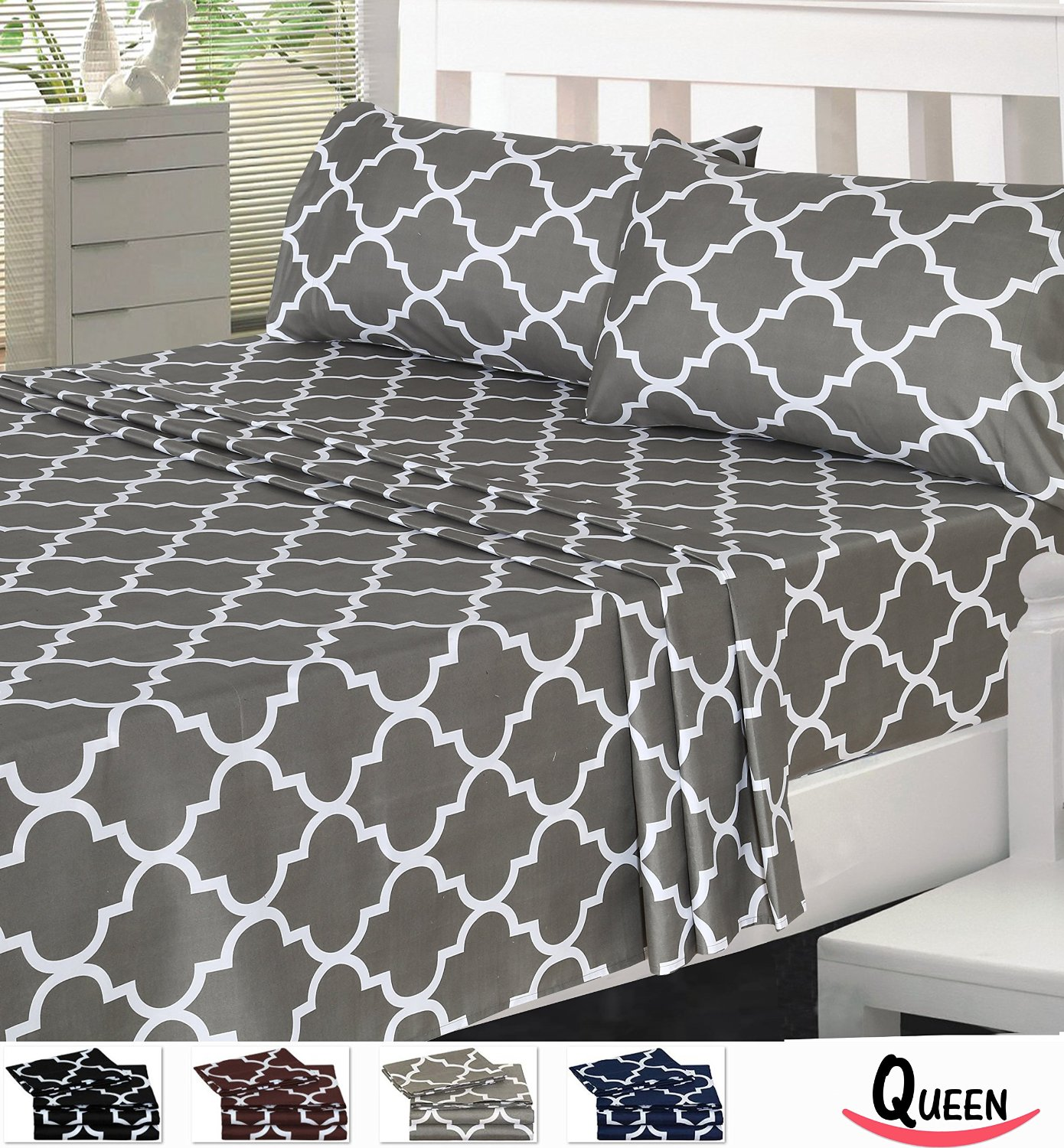 Cheap Sheet Sets Charcoal Grey Comforter And Bedding Sets