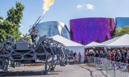 Information about the 2017 Mini Maker Faire in Seattle.