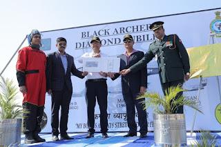 Diamond Jubilee of IAF Black Archer (47 Squadron)