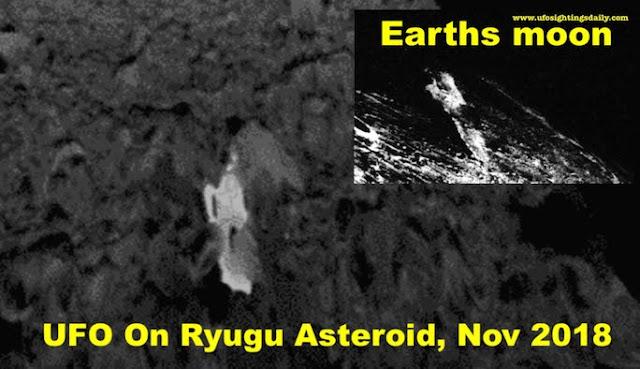 UFO Found Hidden In NASA Photo on Ryugu Asteroid UFO%252C%2Bsightings%252C%2Bdaily%252C%2Bsighting%252C%2Bnobel%2Bpeace%2Bprize%252C%2Bnews%252C%2Bscott%2Bc.%2Bwaring%252C%2Bnasa%252C%2B