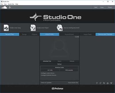 تحميل برنامج Studio One Pro 4.5.1.52729 هو محطة الصوت الرقمية